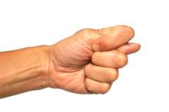 жест популярный Стоковые Изображения RF
