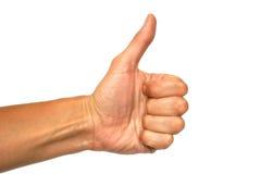 жест популярный Стоковые Изображения