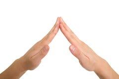 жест принципиальной схемы Стоковые Изображения RF