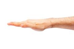 Жест рукой Стоковая Фотография
