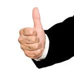 жест утверждения Стоковая Фотография RF