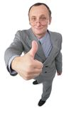 жест дает человека Стоковые Фотографии RF