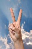 жест 5a Стоковое фото RF