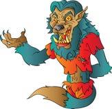 Жест Wolfman приветствующий Стоковое Фото