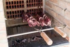 жечь мясо стоковые фотографии rf