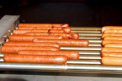 жечь собак горячий Стоковая Фотография RF