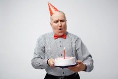 Желание дня рождения стоковые фото