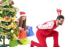 Желание рождества Стоковые Изображения