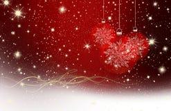 Желания рождества, звезды, предпосылка Стоковая Фотография