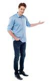 Желанныйа гость молодого человека Стоковые Фотографии RF
