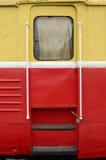 Железная дверь поезда Стоковое фото RF