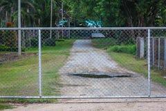 Железная загородка hain Стоковая Фотография