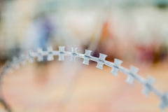 Железная колючка Стоковое фото RF