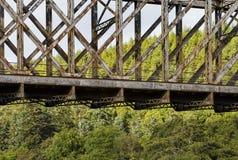 Железная дорога брига шлюпки o в древесине. Стоковая Фотография RF