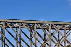 Железная дорога брига шлюпки o. Стоковые Изображения