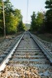 Железная дорога в Италии Стоковые Изображения RF