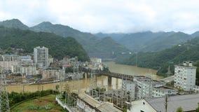 Железная дорога города горы Стоковое Изображение