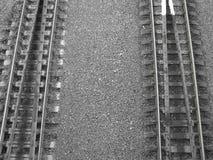 Железная дорога 3 города Стоковое Изображение