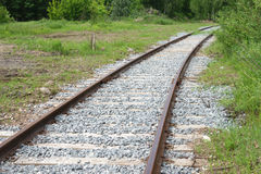 железная дорога Двиньте вперед! Стоковая Фотография RF