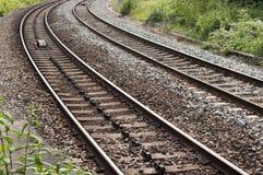 Железная дорога/железная дорога Великобритании Стоковые Изображения RF