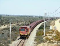 Железная дорога железной руды стоковая фотография rf