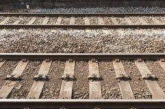 Железная дорога/железнодорожные пути Великобритании Стоковое фото RF