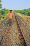 Железная дорога Индия Стоковая Фотография