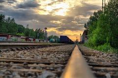 Железная дорога индустрии стоковое изображение
