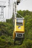 Железная дорога кабеля Ulriken Норвежское самое интересное туризма Transportati Стоковые Фото