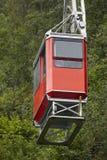 Железная дорога кабеля Ulriken Норвежское самое интересное туризма Transportati Стоковое Фото