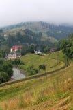 Железная дорога к горе Стоковая Фотография RF