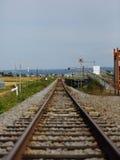 Железная дорога к расстоянию Стоковая Фотография RF