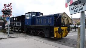 Железная дорога наследия Elsecar - Элизабет, 19-ое февраля 2017, Elsecar, Barnsley, южный Йоркшир видеоматериал