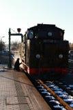 Железная дорога пара - choo-choo, Саксония, Германия Стоковые Изображения