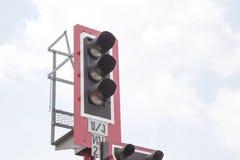 Железная дорога светофора Стоковые Фотографии RF