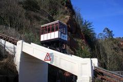 Железная дорога скалы Babbacombe стоковая фотография rf