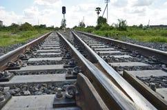 Железная дорога с управлением соединения Стоковые Изображения