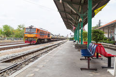 Железная дорога Таиланда Стоковое Фото