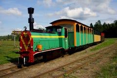 Железная дорога узкой колеи около Suwalki, Польши Стоковое Изображение RF