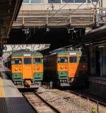Железная дорога Японии Стоковые Изображения