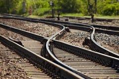 Железная дорога стоковые фотографии rf