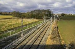 Железная дорога Стоковое фото RF