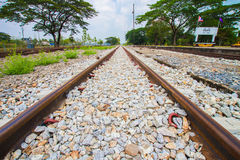 железная дорога Стоковые Изображения