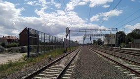 Железная дорога Стоковая Фотография