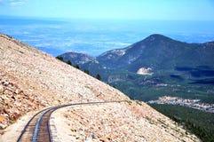 Железная дорога Cog щук пиковая Стоковые Изображения
