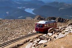 Железная дорога Cog щук пиковая Стоковое Изображение