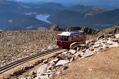 Железная дорога Cog щук пиковая Стоковая Фотография