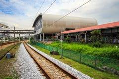 Железная дорога ERL в Малайзии Стоковое Изображение RF
