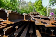 Железная дорога Unlaid Стоковые Изображения