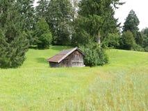 Железная дорога Zugspitze, Бавария, Германия Стоковая Фотография RF